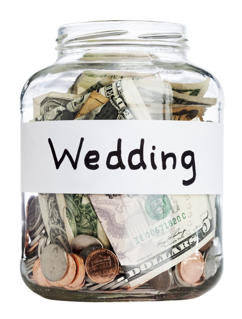 Saving for a wedding.